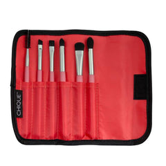 Chique™ 7pc Apricot Eye Brush Set