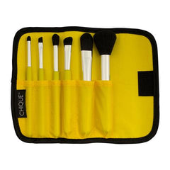 Chique™ 7pc Lemon Mineral Brush Set