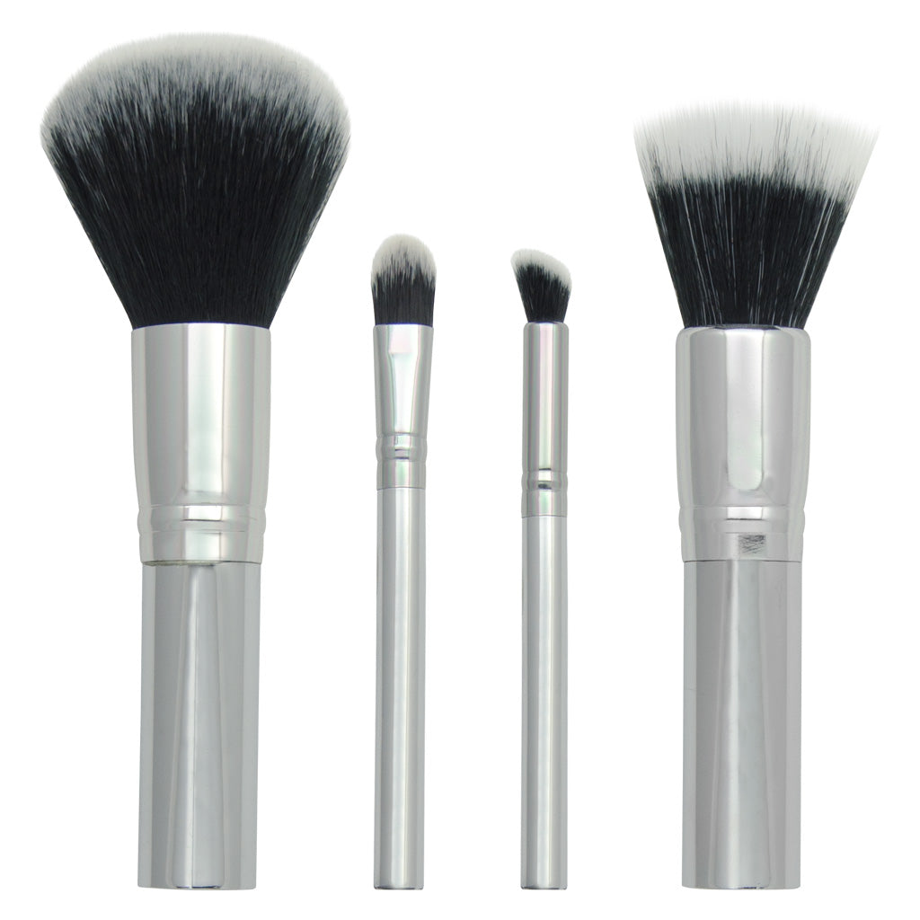 Chique™ 4pc Mineral Set Makeup Brushes