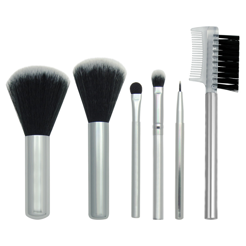 Chique™ 6pc Travel Set Makeup Brushes