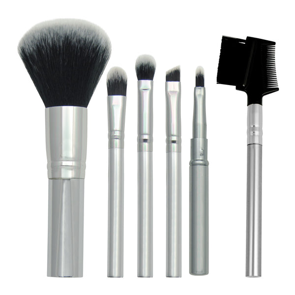Chique™ 6pc Everyday Set Makeup Brushes