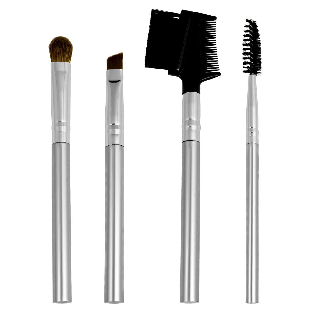 Chique™ Natural 4pc Eye Set Makeup Brushes