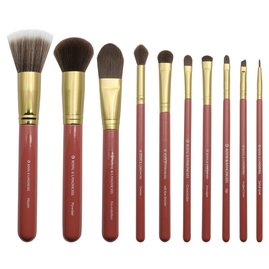 Makeup Brushes featured in the Royal & Langnickel Box Kits - Charming