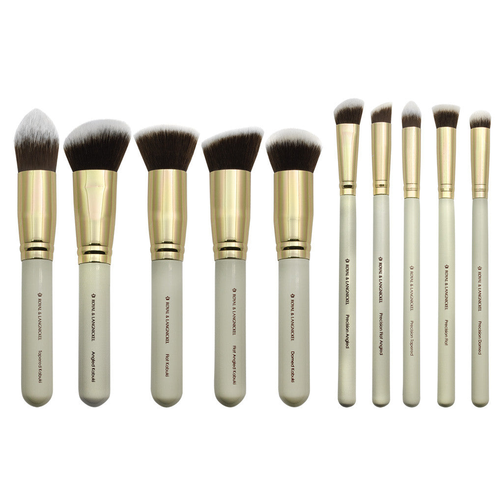 Makeup Brushes featured in the Royal & Langnickel Box Kits - Foxy