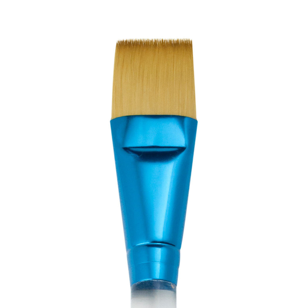 "Flat Synthetic 1"" spa brush"