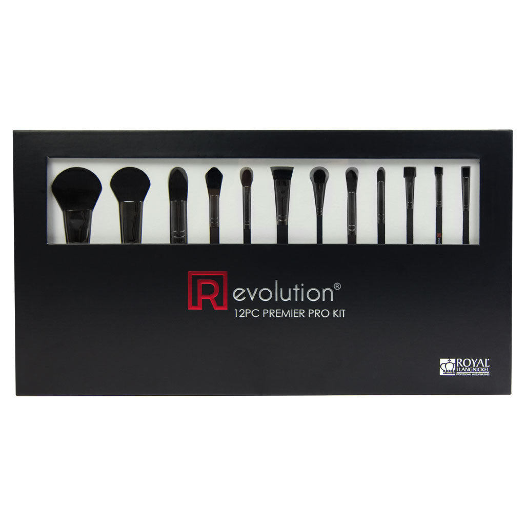 [R]evolution® Premiere Pro Kit - Synthetic 12pc Kit