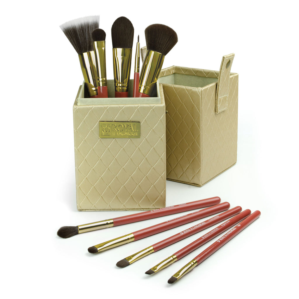 Royal & Langnickel Box Kits - Charming 11pc Brush Kit Makeup Brushes in Storage Box