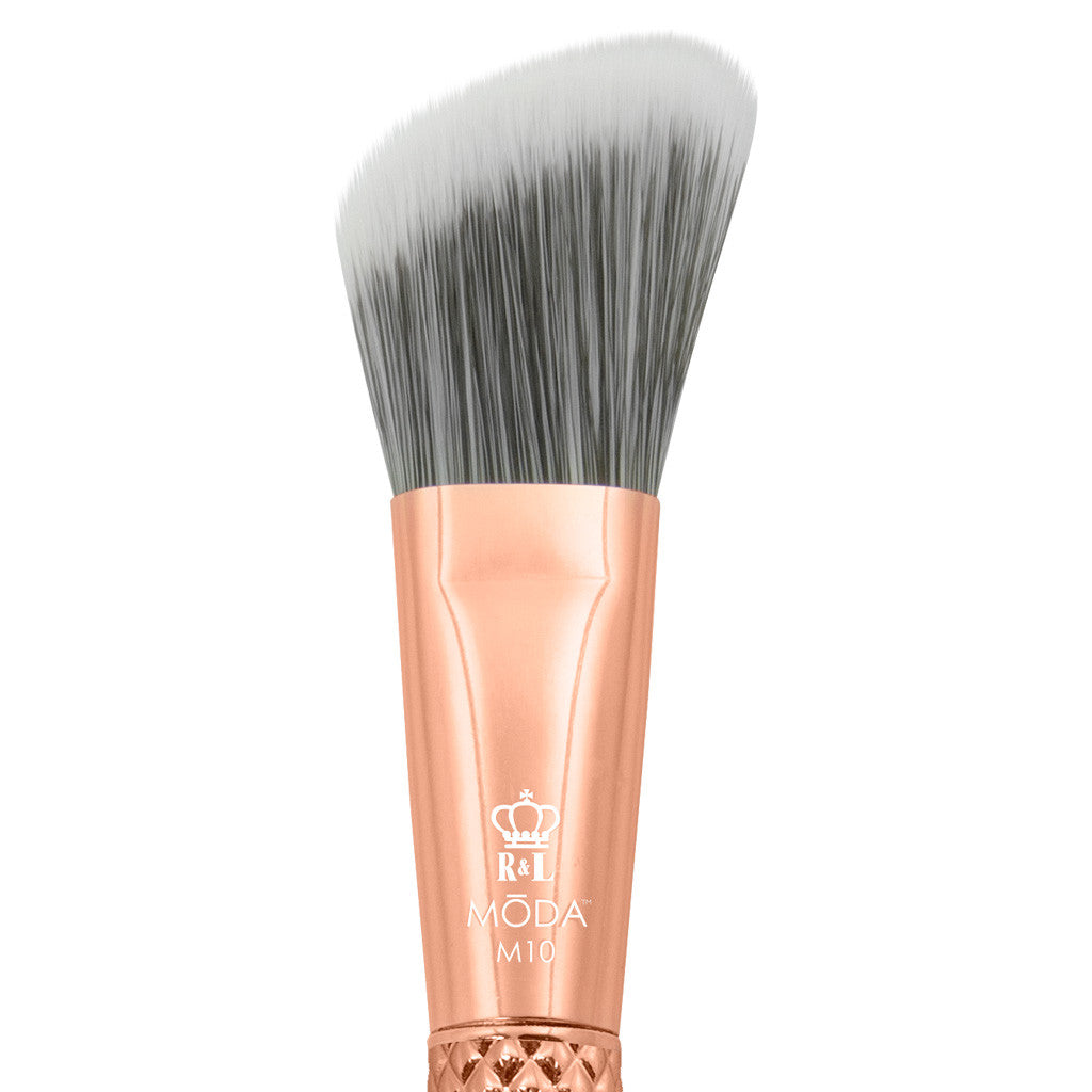 M10 - MODA® Metallics Angle Foundation Makeup Brush Head