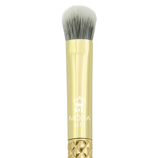 M13 - MODA® Metallics Domed Shadow Makeup Brush