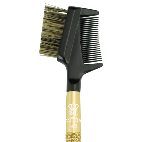 M23 - MODA® Metallics Lash/Brow Groomer Makeup Brush Head