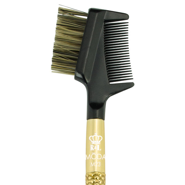 M23 - MODA® Metallics Lash/Brow Groomer Makeup Brush