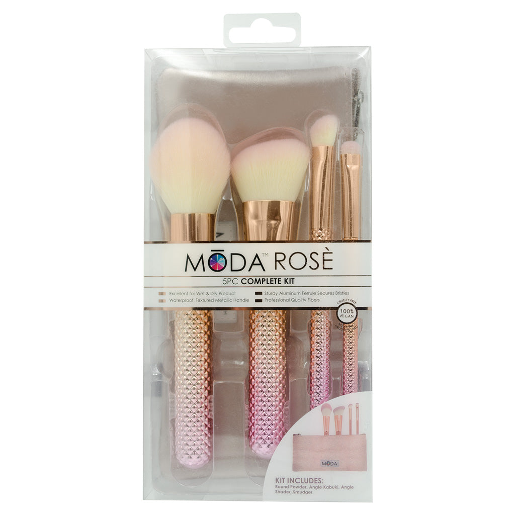 MSET-RCK4 - MODA® Rosè 5pc Complete Kit Retail Packaging