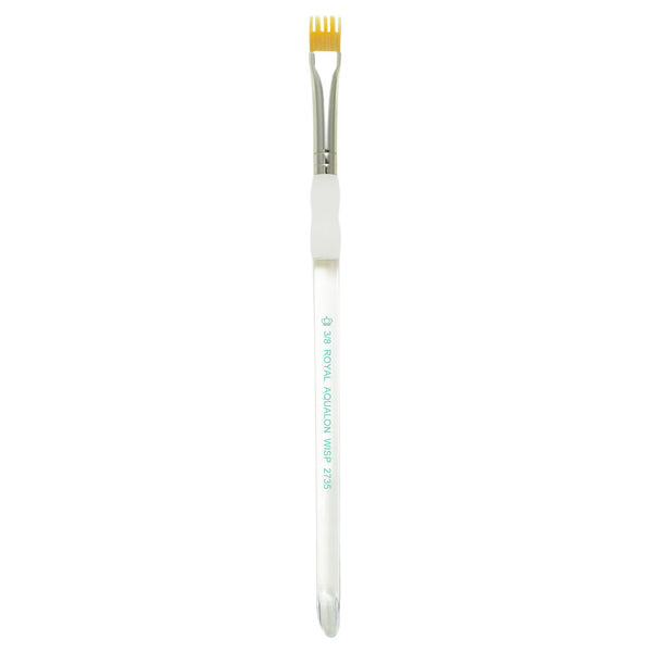 "Aqualon Wisp™ Flat Brush 3/8"" Makeup Brush"