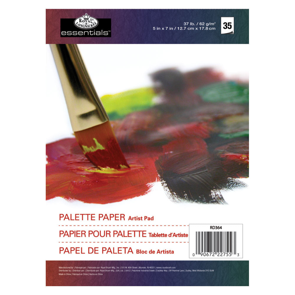 5x7 Artist Pad - Palette Paper Cover