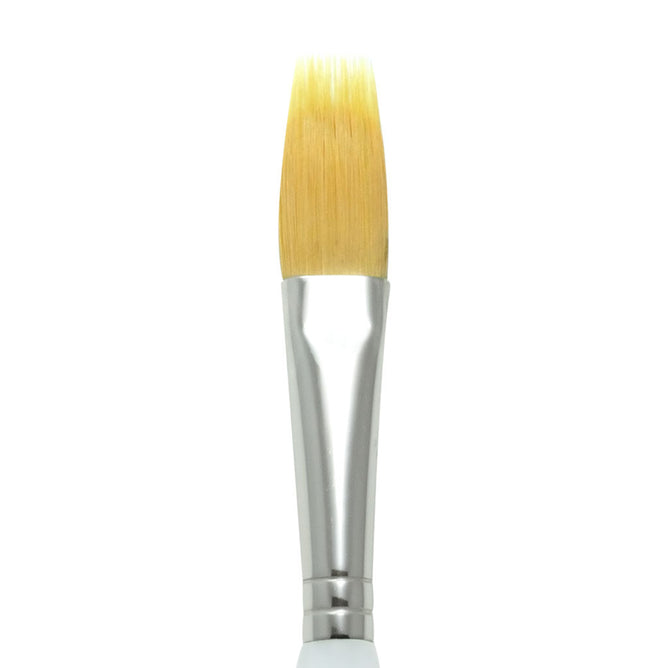 SG930-1/2 INCH - Soft Grip Gold Synthetic Filbert Comb 1/2""