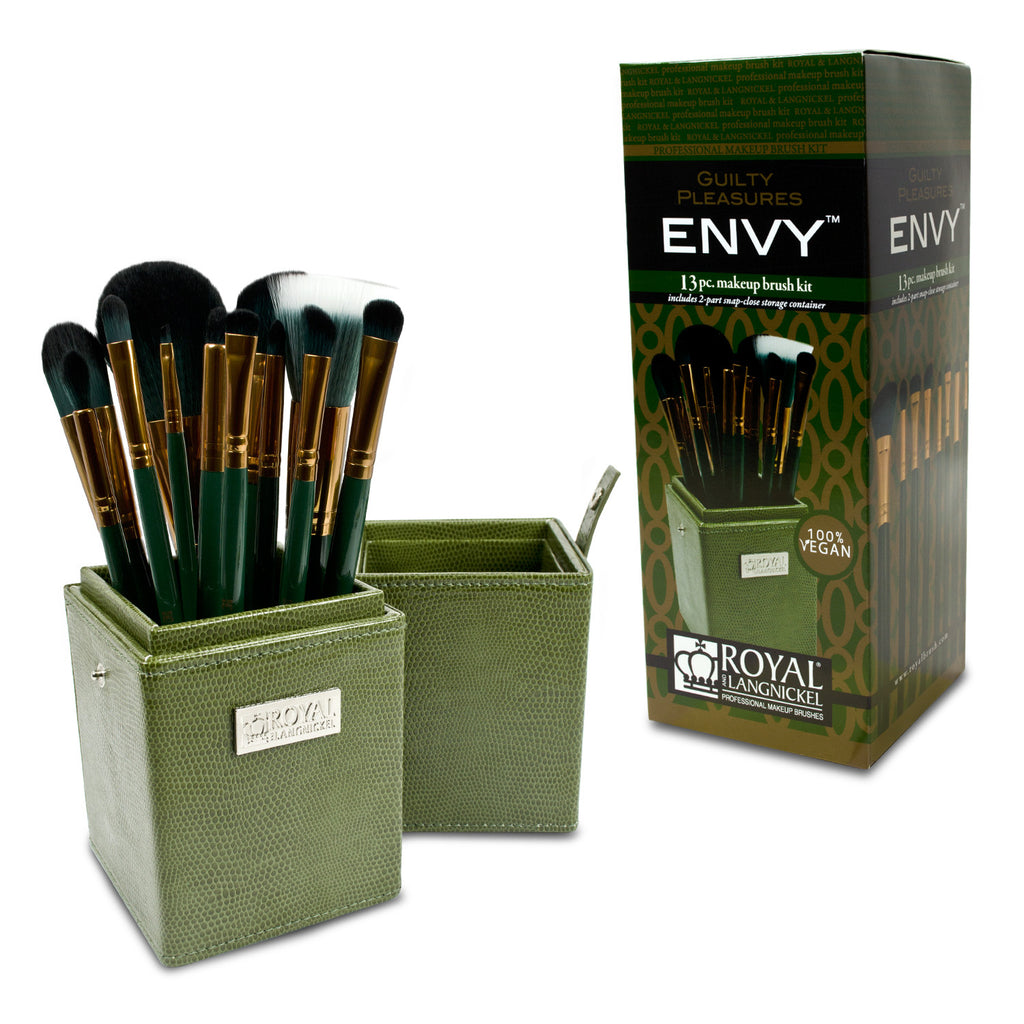 Guilty Pleasures... Envy™ – 12-piece Brush Kit with retail packaging