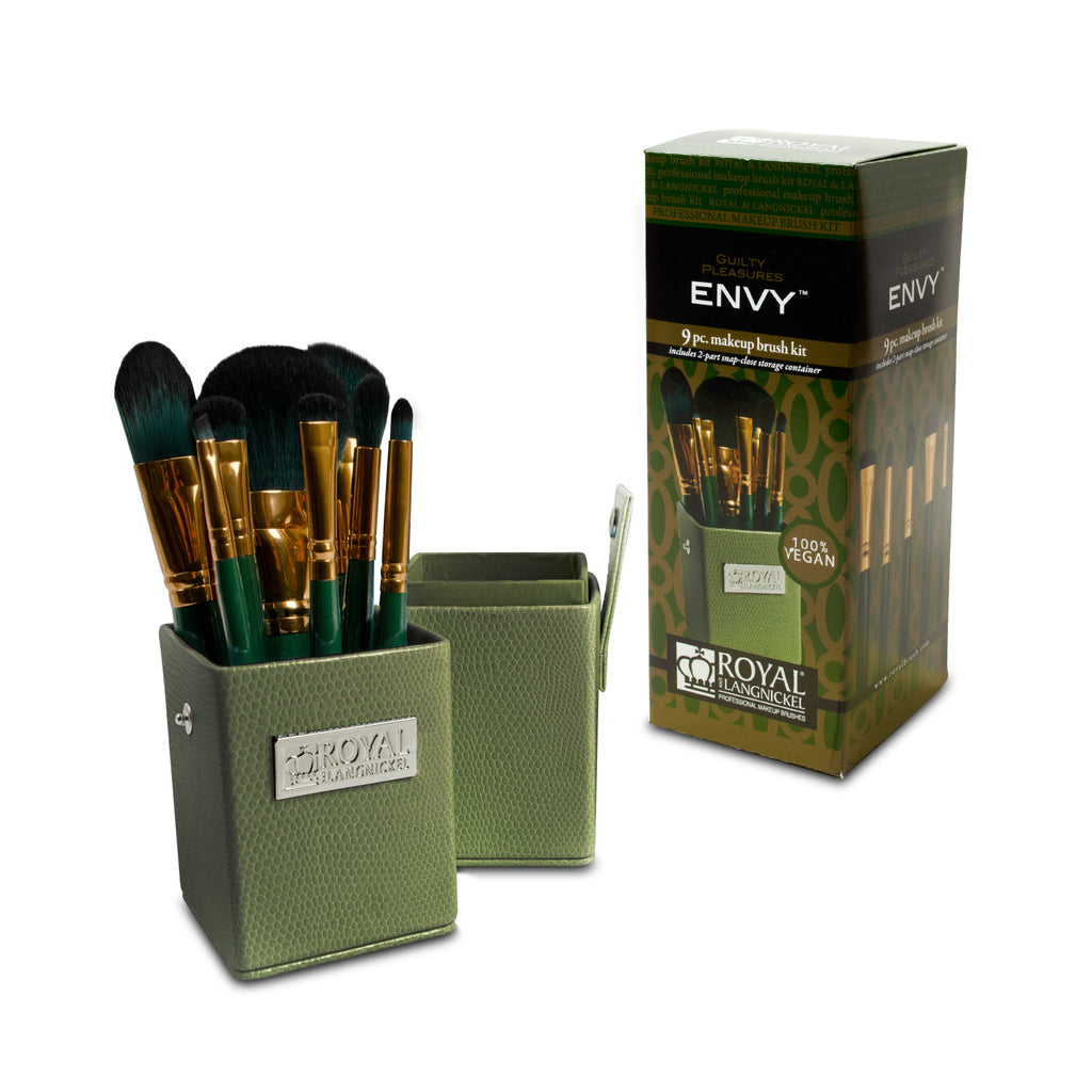 Guilty Pleasures... Envy™ – 8-piece Travel Brush Kit with retail packaging