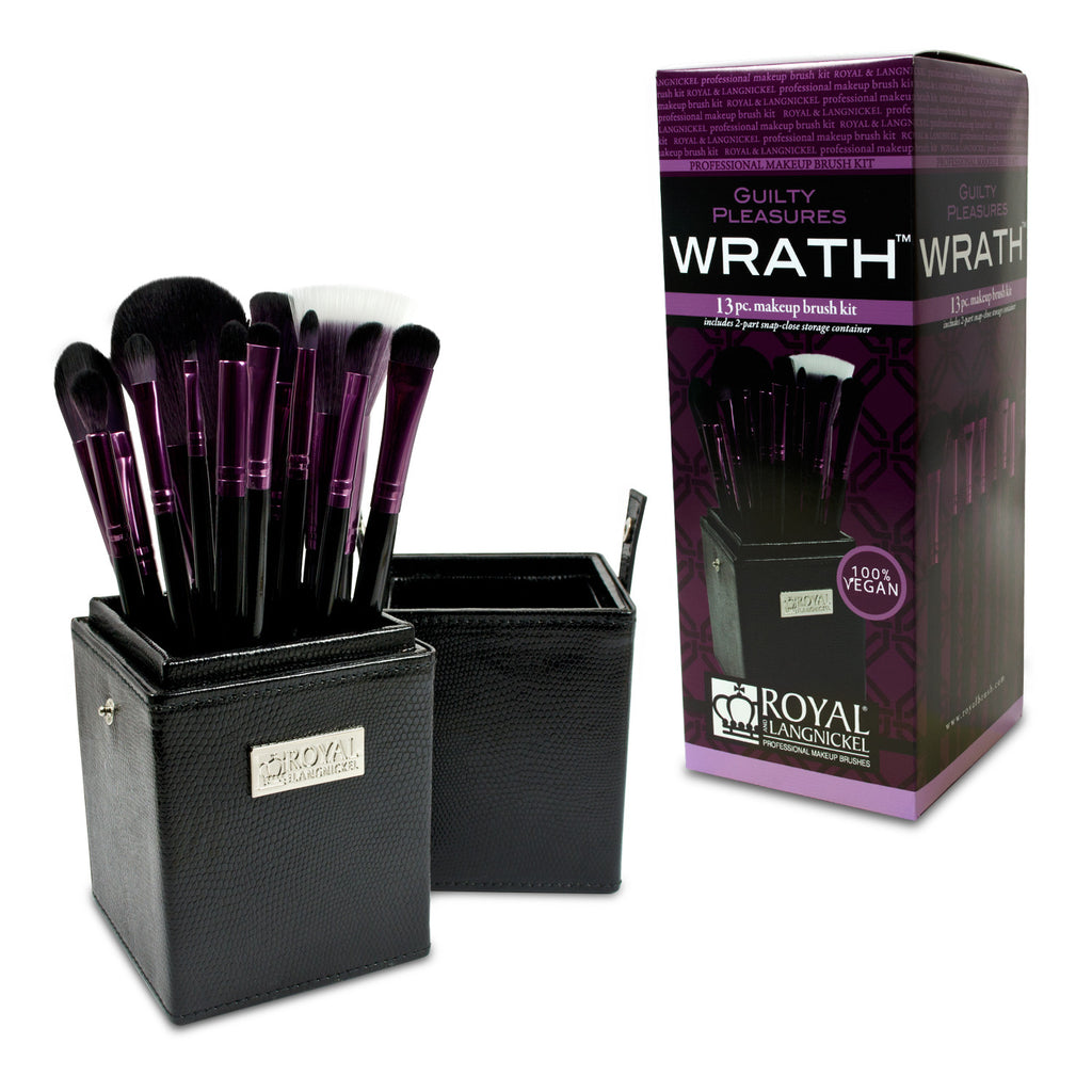 Guilty Pleasures... Wrath™ – 12-piece Brush Kit with retail packaging