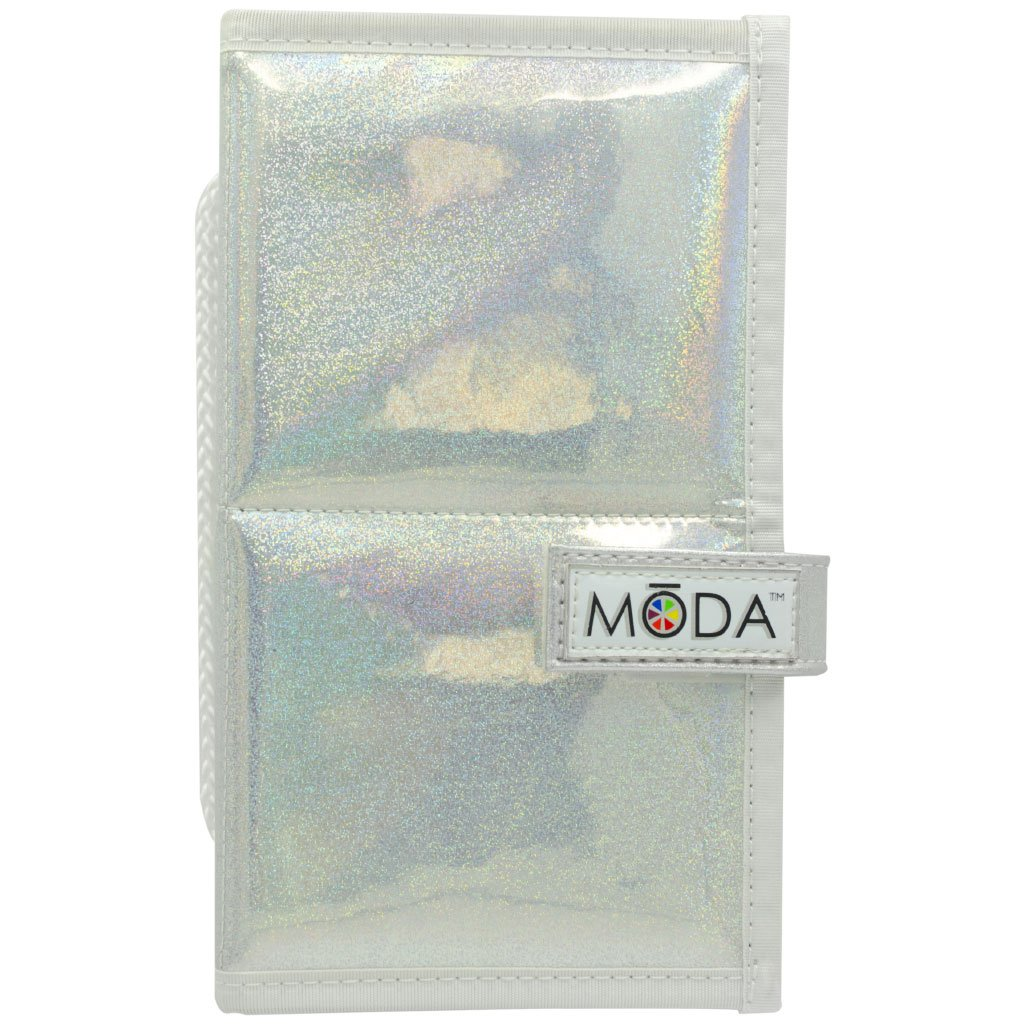 MŌDA® Holographic Flip Case BMD-CASE03 - MODA® Holographic Flip Case Closed