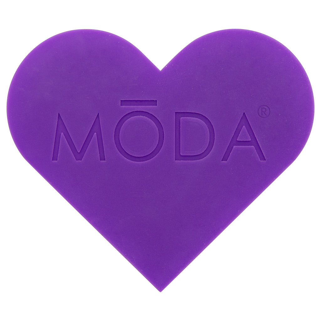 BMD-T01 - MODA® Heart Scrubby Makeup Brush Cleaning Pad Back