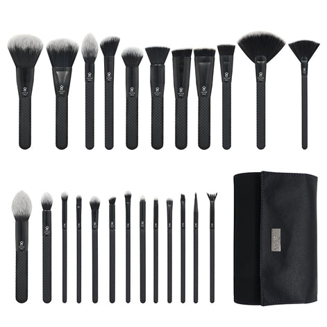 Makeup Brushes with Wrap
