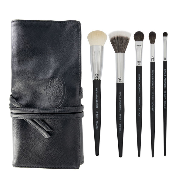 OMNIA® Artist Favorites - Cassie Lyons 6pc Bundle OMNIA® Artist Favorites - Cassie Lyons Makeup Brushes Bundle with included brush wrap