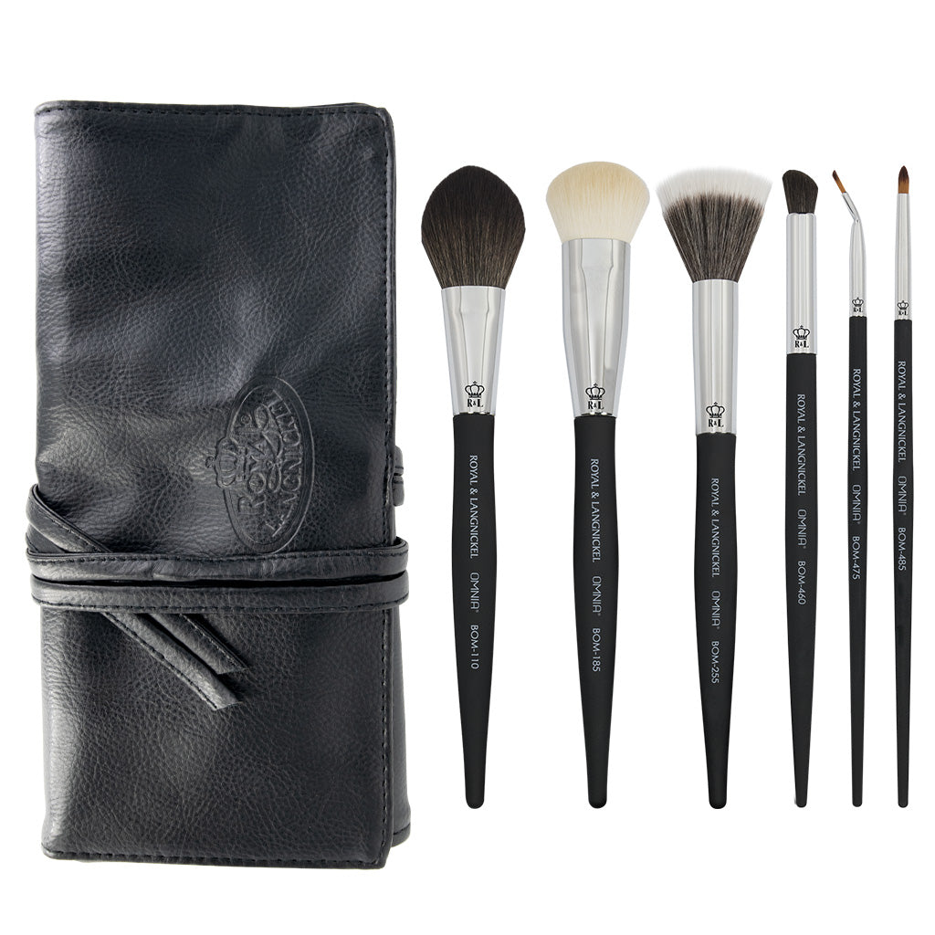 OMNIA® Artist Favorites - Christina Vida 7pc Bundle OMNIA® Artist Favorites - Christina Vida Makeup Brushes Bundle with included brush wrap