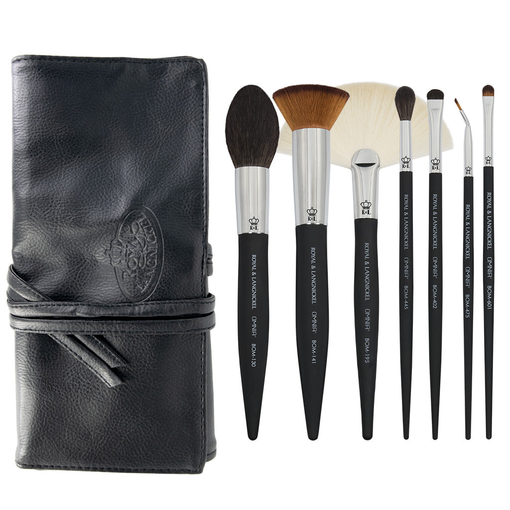 OMNIA® Artist Favorites - Dominique Lerma 8pc Bundle OMNIA® Artist Favorites - Dominique Lerma Makeup Brushes Bundle with included brush wrap