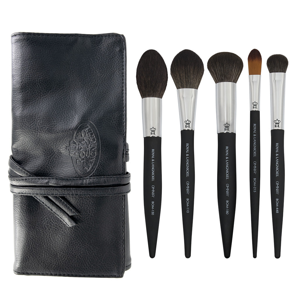 OMNIA® Artist Favorites - KJB 6pc Complexion Bundle OMNIA® Artist Favorites - KJB Complexion Makeup Brushes Bundle with included brush wrap