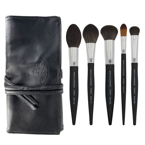 OMNIA® Artist Favorites - KJB Complexion Makeup Brushes Bundle with included brush wrap