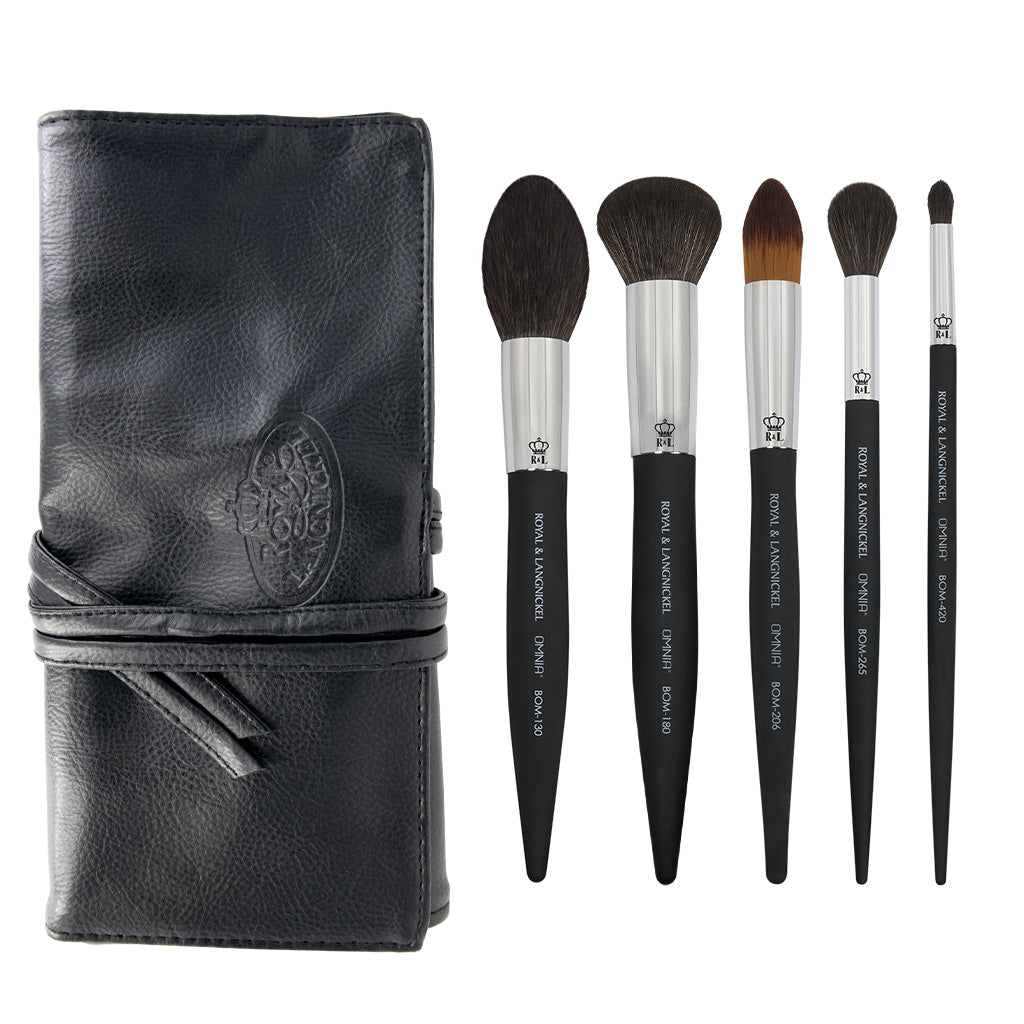 OMNIA® Artist Favorites - Mathias Alan 6pc Bundle OMNIA® Artist Favorites - Mathias Alan Makeup Brushes Bundle with included brush wrap