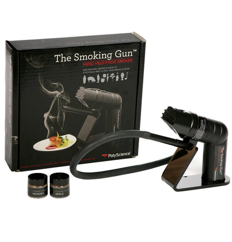 The <i>Smoking Gun</i> ™ handheld food smoker