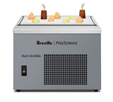 Breville PolyScience Anti-Griddle® Flash Freeze With Fruits on top of unit