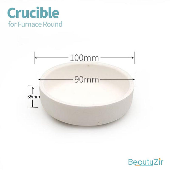 Crucible for Furnace Round
