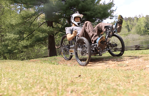 Electric Adventure Vehicle dirt riding