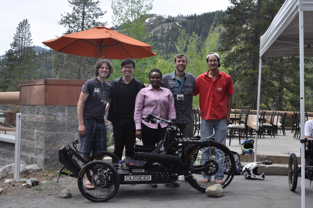 Quadstick Outrider Development R&D Team