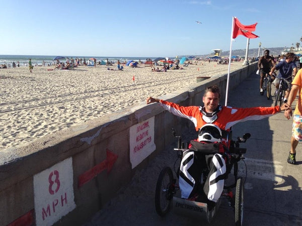Chris Wenner, Outrider USA, quadriplegic, quadriplegic bike