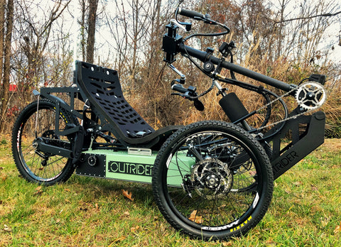 Nomad (All-Terrain) | Handcycle + Electric (H)