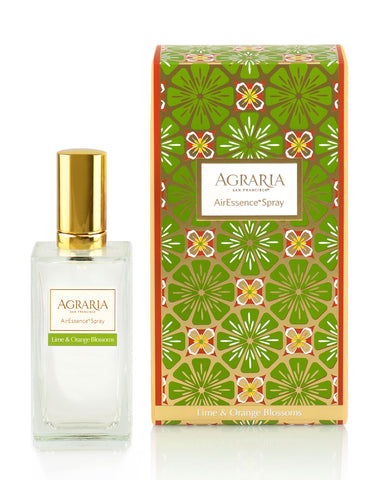 Agraria Lime & Orange Blossoms AirEssence Room Spray