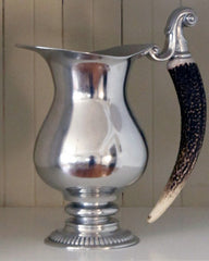 Vagabond House Pewter & Antler Pitcher