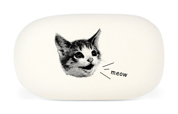 Cavallini & Co. Cat Meow Oval Rubber Pencil Eraser
