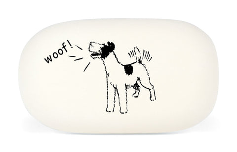 Cavallini & Co. Dog Woof Oval Rubber Pencil Eraser