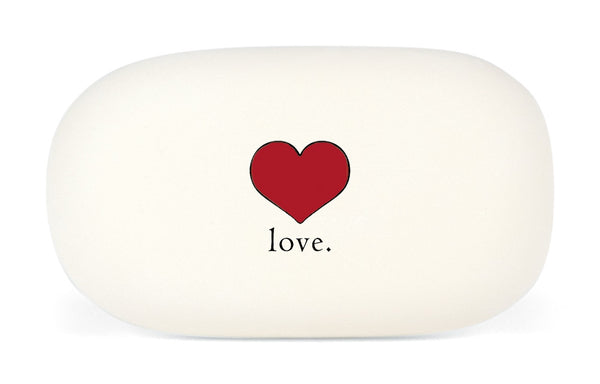 Cavallini & Co. Love Heart Oval Rubber Pencil Eraser