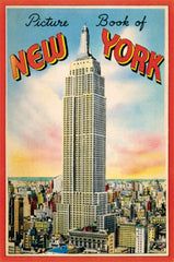 Cavallini & Co. New York Glitter Greetings Vintage Postcard Set