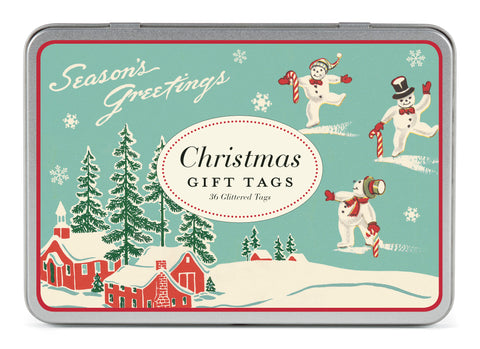 Cavallini & Co. Winter Wonderland Glitter Gift Tag Set