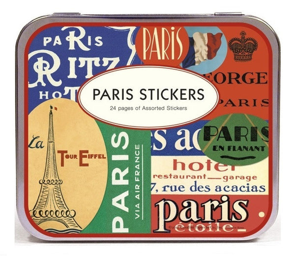 Cavallini & Co. Paris Decorative Label Sticker Set