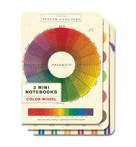 Cavallini & Co. Color Wheel Mini Notebooks Set
