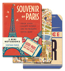 Cavallini & Co. Vintage Paris Mini Notebooks Set