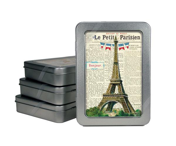 Cavallini & Co. Vintage Paris Glittered Note Cards Boxed Set