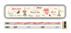Cavallini & Co. Vintage Paris Pencil Set